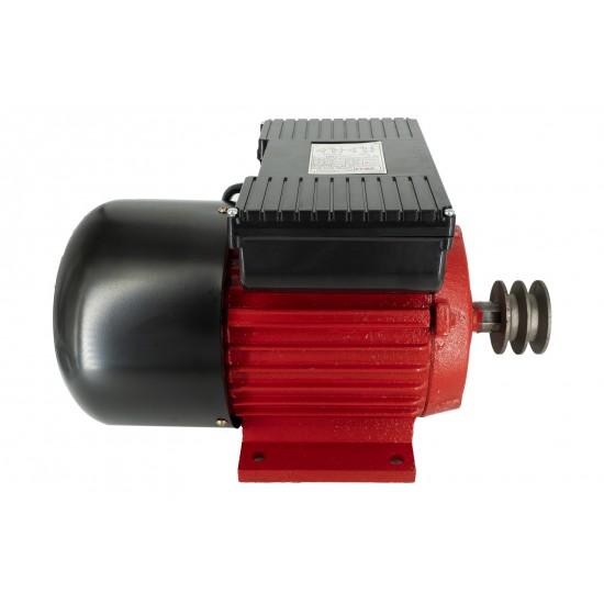 Motor Electric Monofazat Swat 3KW 1500Rpm,buton pornire,fulie dubla,bobinaj cupru-1-550x550w
