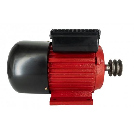 Motor Electric Monofazat Swat 3KW 1500Rpm,buton pornire,fulie dubla,bobinaj cupru-3-550x550w
