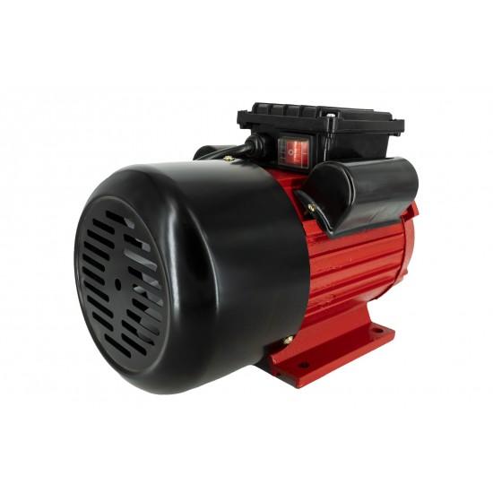Motor electric monofazat Swat,0.75Kw,1500Rpm,buton pornire, fulie dubla,bobinaj cupru-1-550x550w