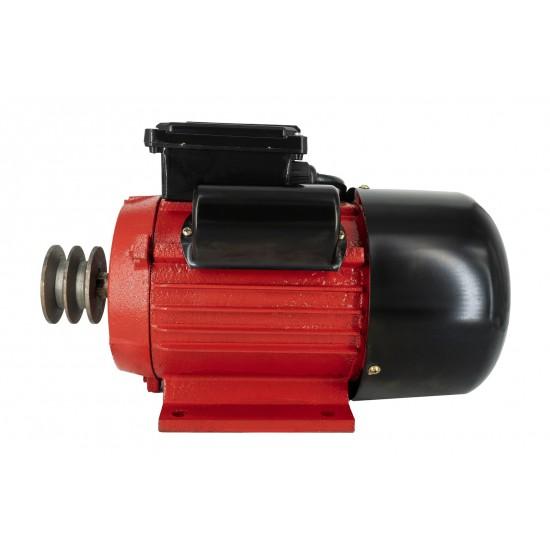 Motor electric monofazat Swat,0.75Kw,1500Rpm,buton pornire, fulie dubla,bobinaj cupru-2-550x550w